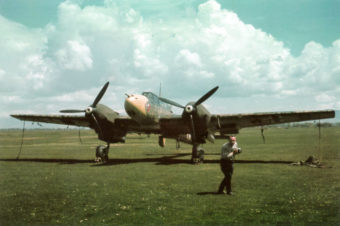 Messerschmitt Bf.110E in Color