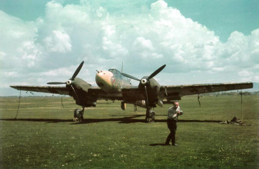 Messerschmitt Bf.110E in Color