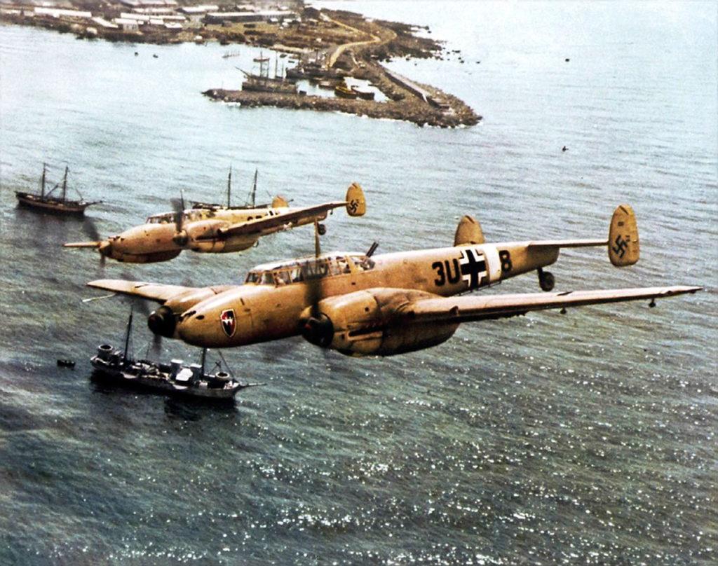 Messerschmitt Bf.110 E-2 8./ZG26 Средиземное море