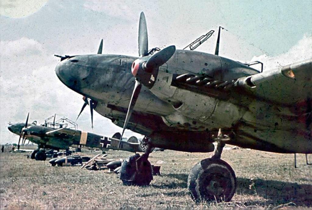 Messerschmitt Bf.110E (W.Nr 4415, S9+HN) 5./SKG210