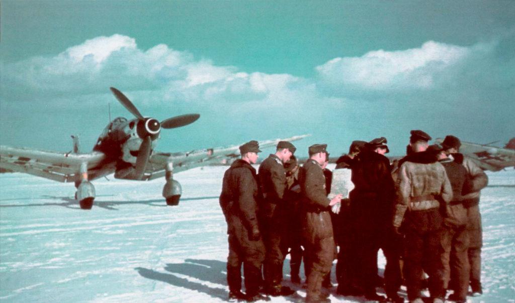 Junkers Ju.87 D-5 II/SG1 Рованиеми, Финляндия