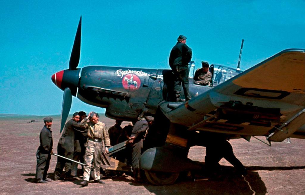 Junkers Ju.87D 5./StG2 Крым