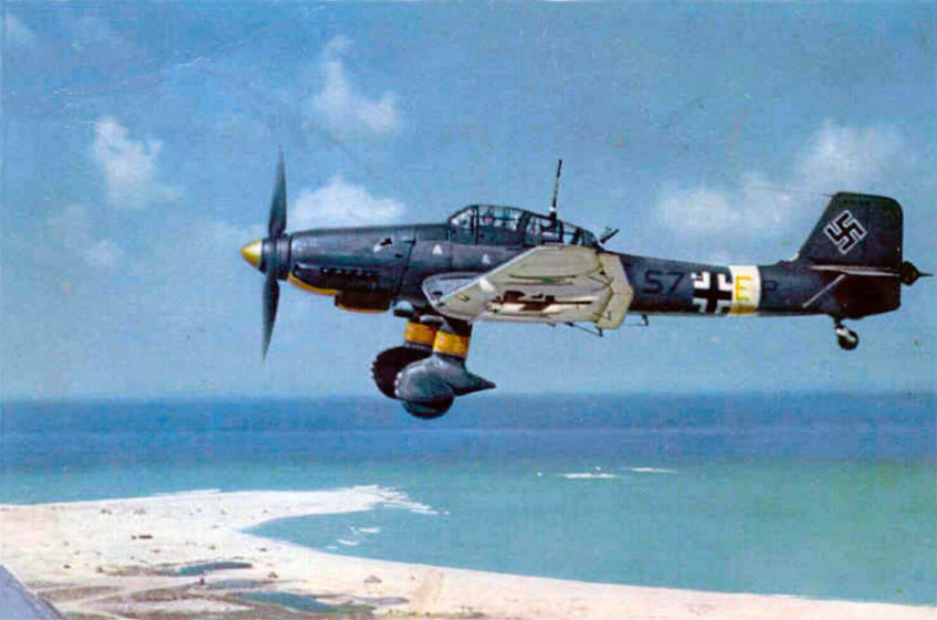 Junkers Ju.87D in Color