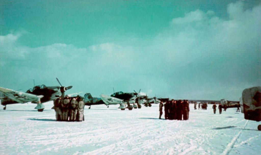 Junkers Ju.87 D-5 II/SG1 Рованиеми