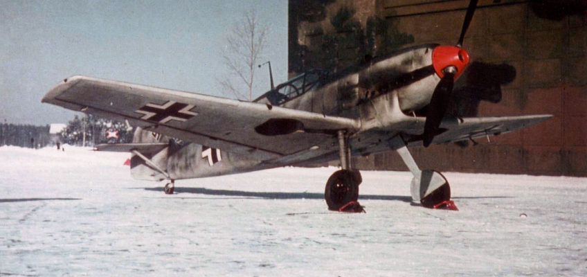Messerschmitt Bf.109D in Color