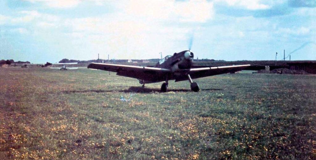 Messerschmitt Bf.109D в учебной части