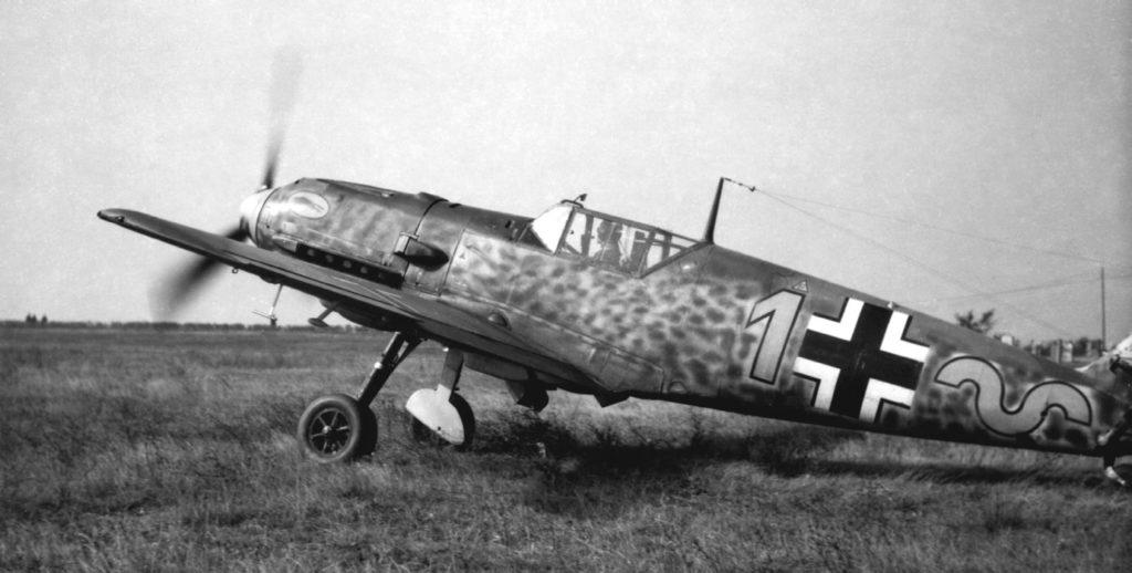 Messerschmitt Bf.109 E-4 командира 9./JG52