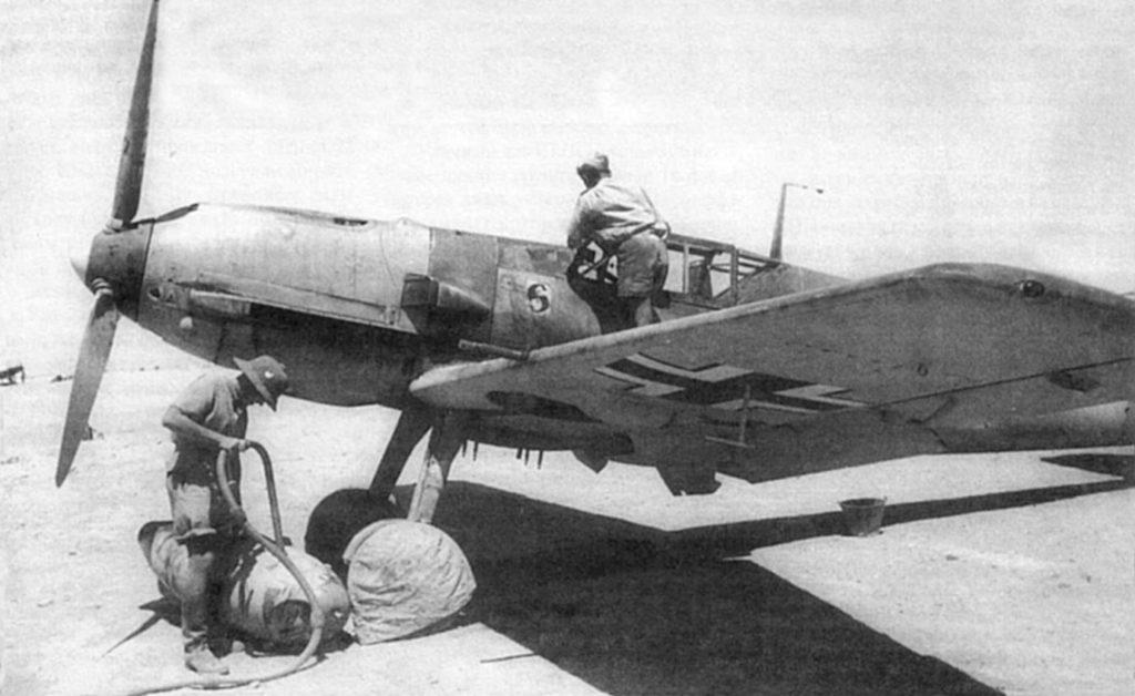 Messerschmitt Bf.109 E-7 JG26 Северная Африка 1941 год