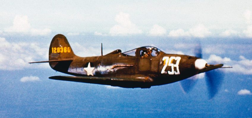 Bell P-39D Airacobra in Color