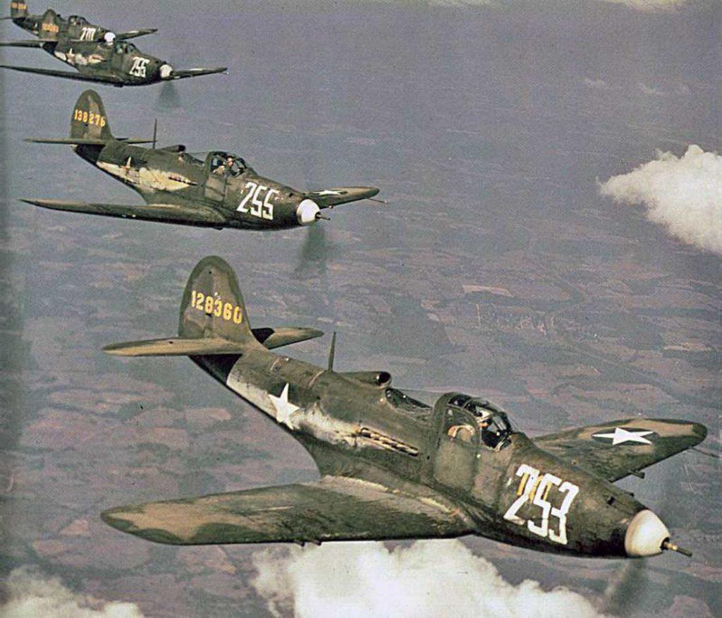 Bell P-39-D-1-BE Airacobra s/n 41-28360, s/n 41-38276