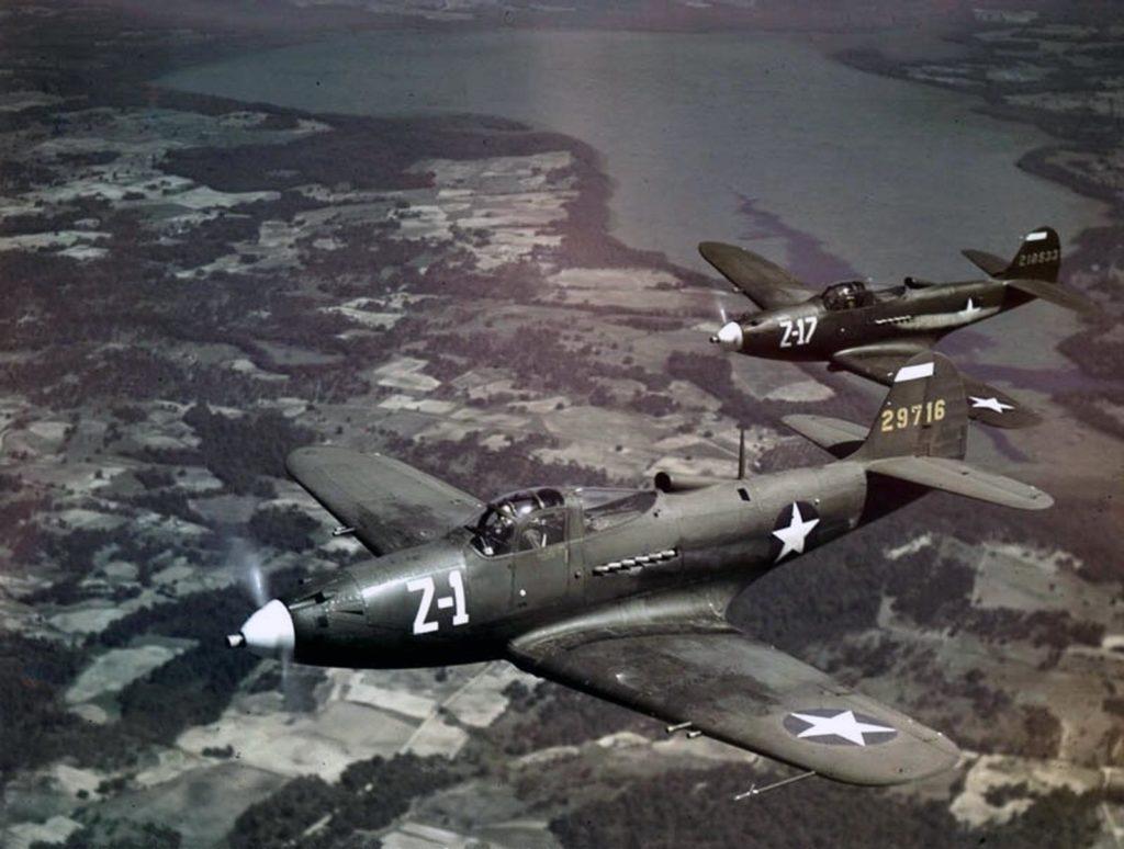Истребители Bell P-39N Airacobra