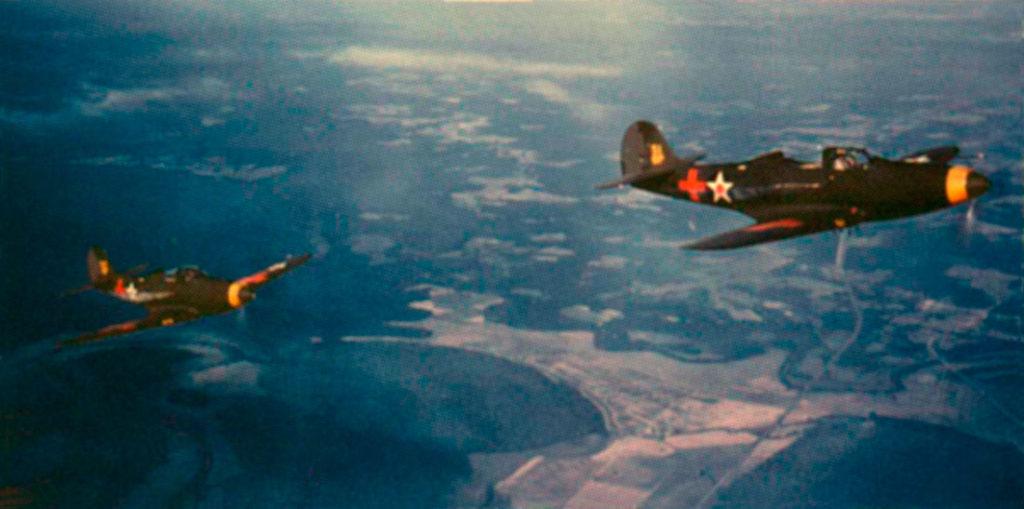 Bell P-39D Airacobra из 8PG на маневрах в Каролине, 1941 год