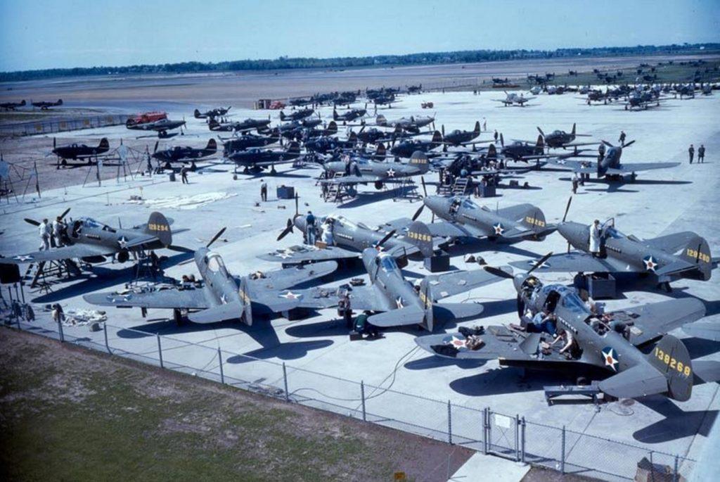 Истребители Bell P-39D Airacobra