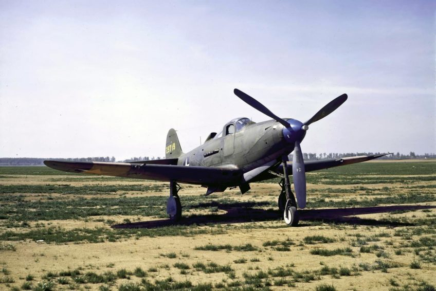 Bell P-39N Airacobra in Color