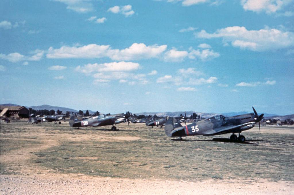 "P-40 Tomahawk 3PS ""Flying Tigers"" Куньмин, Китай"