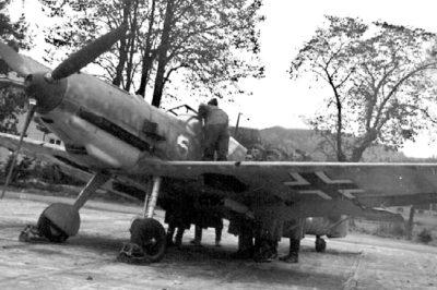 Messerschmitt Bf.109 E-1 из II/JG77