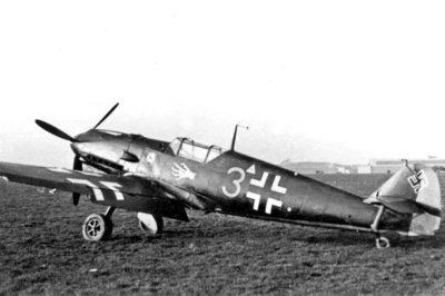 Messerschmitt Bf.109 E-1 из состава I/JG51