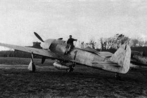 Focke-Wulf Fw.190 A-7/R2 W.Nr 643701 2./JG11, Rotenburg/Wümme Германия 1944 год