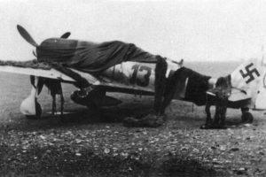 Focke-Wulf Fw.190 A-7 W.Nr 431007 Heinz «Pritzl» Bär II/JG1 Störmede Германия апрель 1944 года