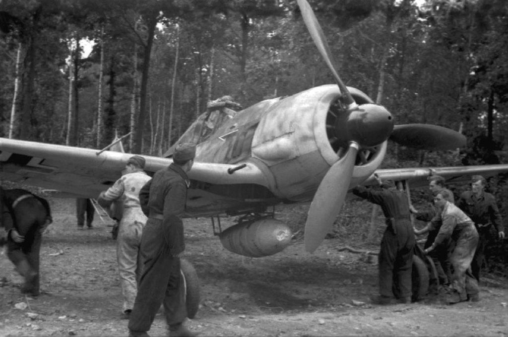 Focke-Wulf Fw.190 A-7 JG26 1944 год