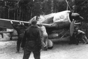 Focke-Wulf Fw.190 A-7 JG26, Boissy-le-Bois Франция 1944 год