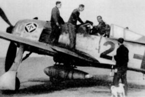 Focke-Wulf Fw.190 A-7 Heinz «Pritzl» Bär II/JG1  1944 год