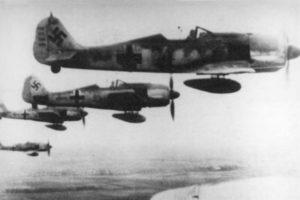Focke-Wulf Fw.190 A-7 W.Nr 340001 Oblt. Waldemar Radener 7./JG26 май 1944 года