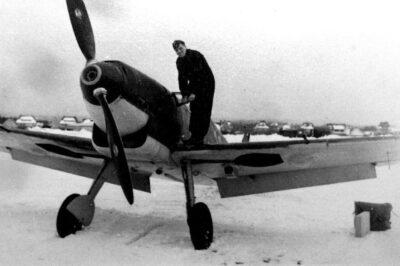 Messerschmitt Bf.109 C-3 зимой