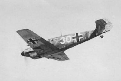 Messerschmitt Bf.109 C-3 4./JFS4 ноябрь 1941 года